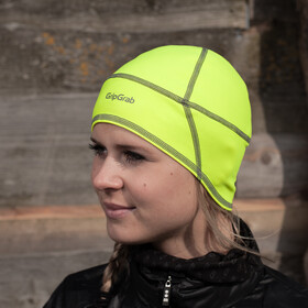 GripGrab Lightweight Thermal Hi-Vis Calotte, fluo yellow